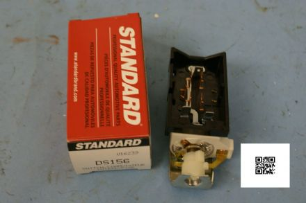 1957-1963 Corvette C1 C2 Headlight Switch, Standard DS156, New In Box